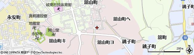 石川県金沢市舘山町(ヨ)周辺の地図