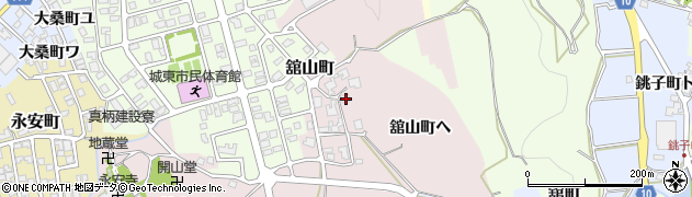 石川県金沢市舘山町(ヘ)周辺の地図
