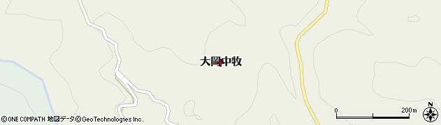 長野県長野市大岡弘崎周辺の地図