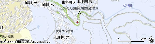 石川県金沢市山科町(ヌ)周辺の地図