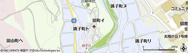 石川県金沢市舘町(イ)周辺の地図