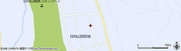 長野県大町市平(日向山)周辺の地図