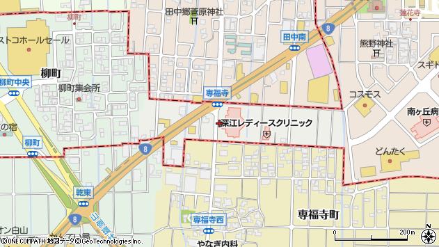 〒921-8841 石川県野々市市郷町の地図
