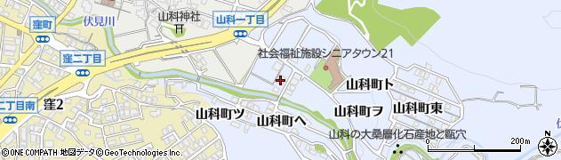 石川県金沢市山科町(午)周辺の地図