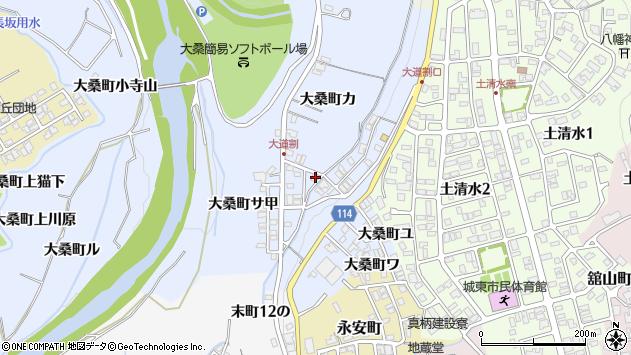 〒920-0946 石川県金沢市大桑町ヨの地図