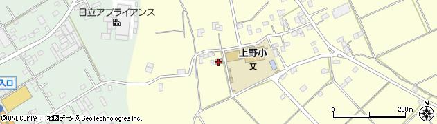 常陸大宮市 大宮公民館上野分館周辺の地図