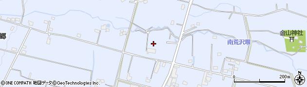 長野県大町市平(西原)周辺の地図