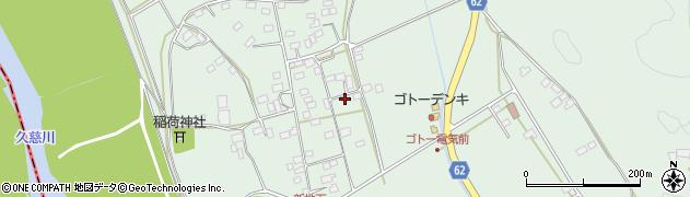 茨城県常陸太田市新地町周辺の地図