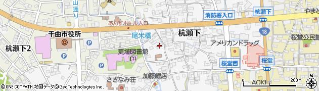 長野県千曲市杭瀬下周辺の地図