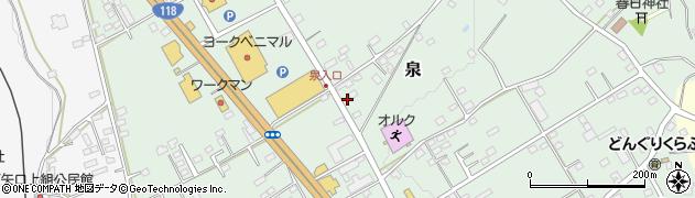 ヴェルジュ周辺の地図
