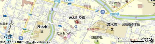 栃木県茂木町(芳賀郡)周辺の地図