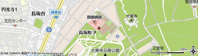 石川県金沢市長坂町(チ)周辺の地図