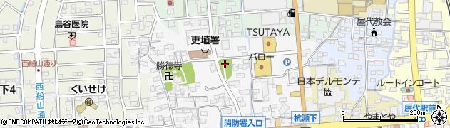 千曲神社周辺の地図