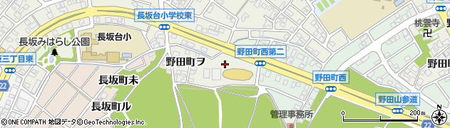 石川県金沢市野田町(ム)周辺の地図