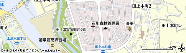 石川県金沢市田上本町(4の)周辺の地図