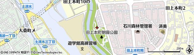 石川県金沢市田上本町(3の)周辺の地図