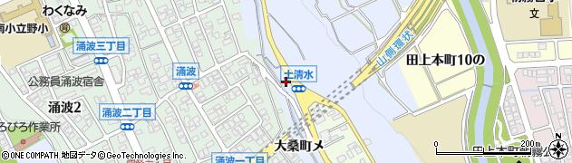 石川県金沢市大桑町(メ)周辺の地図