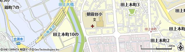 石川県金沢市田上本町(5の)周辺の地図