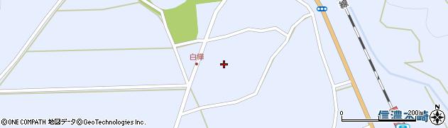 長野県大町市平(白樺)周辺の地図