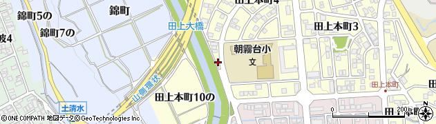 石川県金沢市田上本町(ヘ)周辺の地図