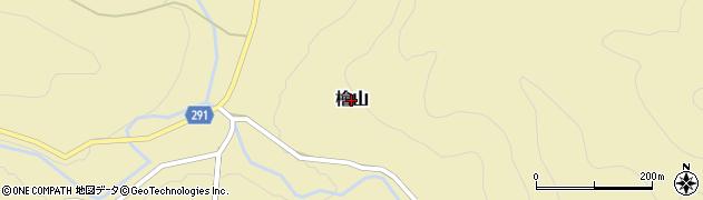 茨城県常陸大宮市檜山周辺の地図
