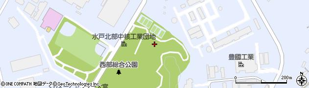 茨城県常陸大宮市工業団地周辺の地図
