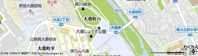 石川県金沢市大桑町(ハ)周辺の地図