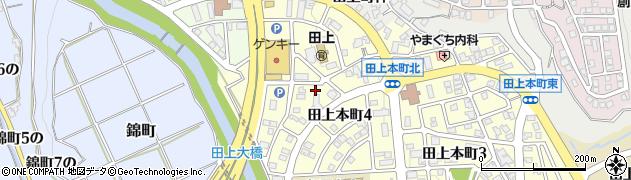 石川県金沢市田上本町(6の)周辺の地図