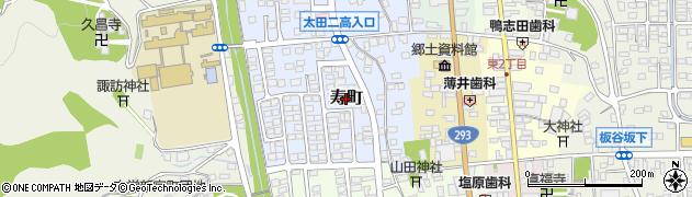茨城県常陸太田市寿町周辺の地図