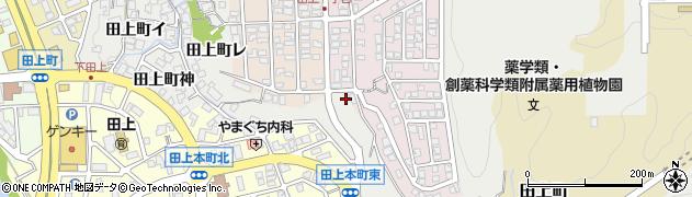 石川県金沢市田上町(ナ)周辺の地図