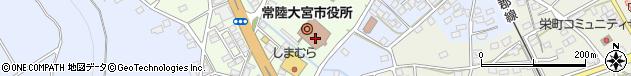 茨城県常陸大宮市周辺の地図