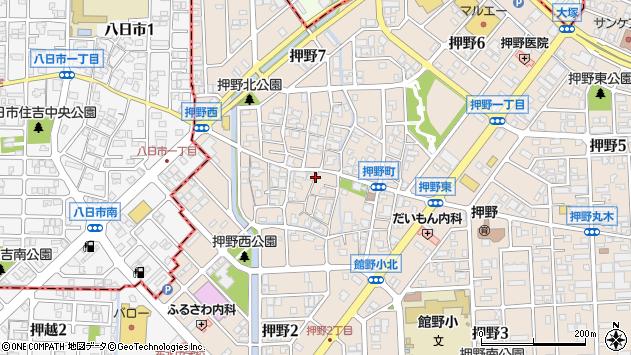 〒921-8802 石川県野々市市押野の地図