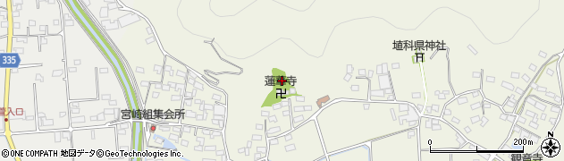 長野県千曲市生萱周辺の地図