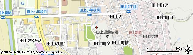 石川県金沢市田上町(耕)周辺の地図