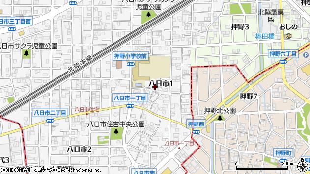 〒921-8064 石川県金沢市八日市の地図