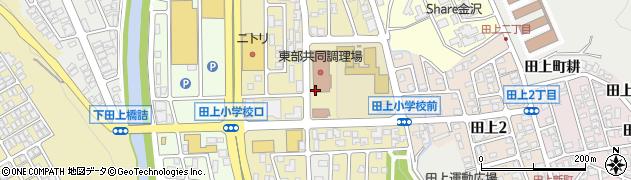 石川県金沢市田上の里周辺の地図