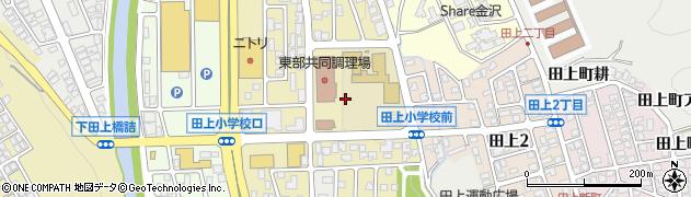 石川県金沢市田上町(南)周辺の地図