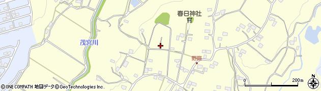 茨城県常陸太田市高貫町周辺の地図