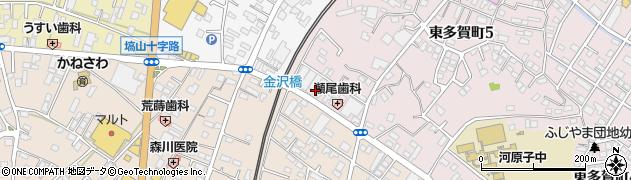 酒井ガラス店周辺の地図
