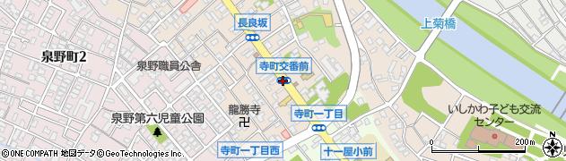 交番前周辺の地図