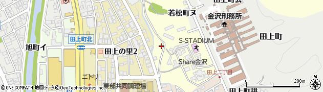 石川県金沢市若松町(セ)周辺の地図