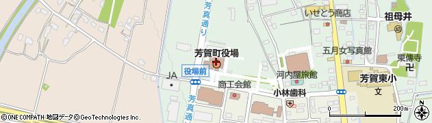 栃木県芳賀郡芳賀町周辺の地図