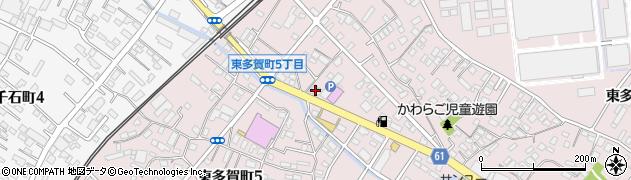有限会社トビタ酒店周辺の地図