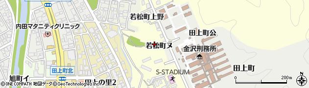 石川県金沢市若松町(ヌ)周辺の地図