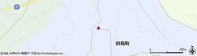 石川県金沢市田島町(ク)周辺の地図