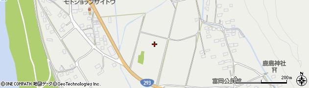 茨城県常陸大宮市富岡周辺の地図