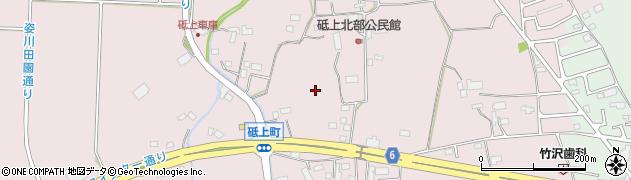 栃木県宇都宮市砥上町周辺の地図