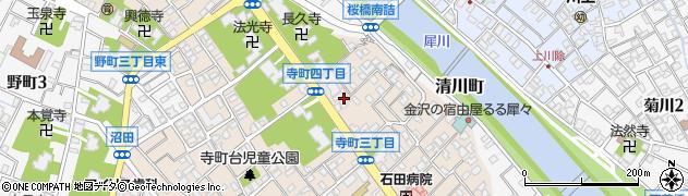 善隆寺周辺の地図