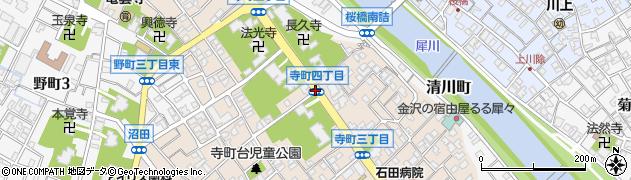 寺町4周辺の地図