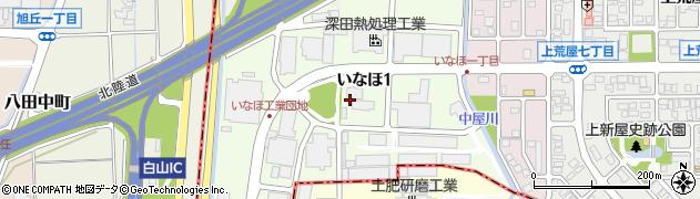 石川県金沢市いなほ周辺の地図